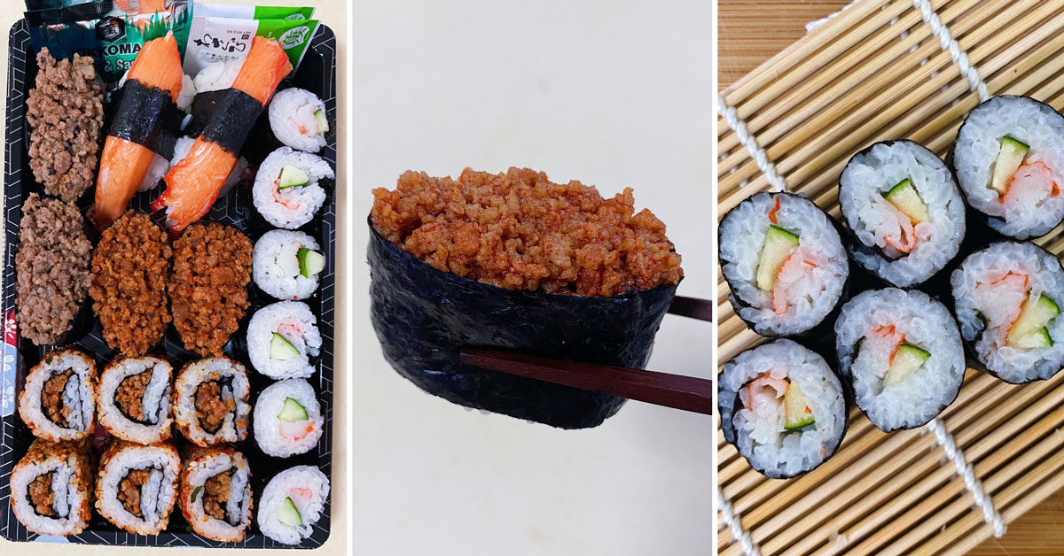 Halal Sushi Delivery Singapore Tsushi Sells Sushi With A Twist