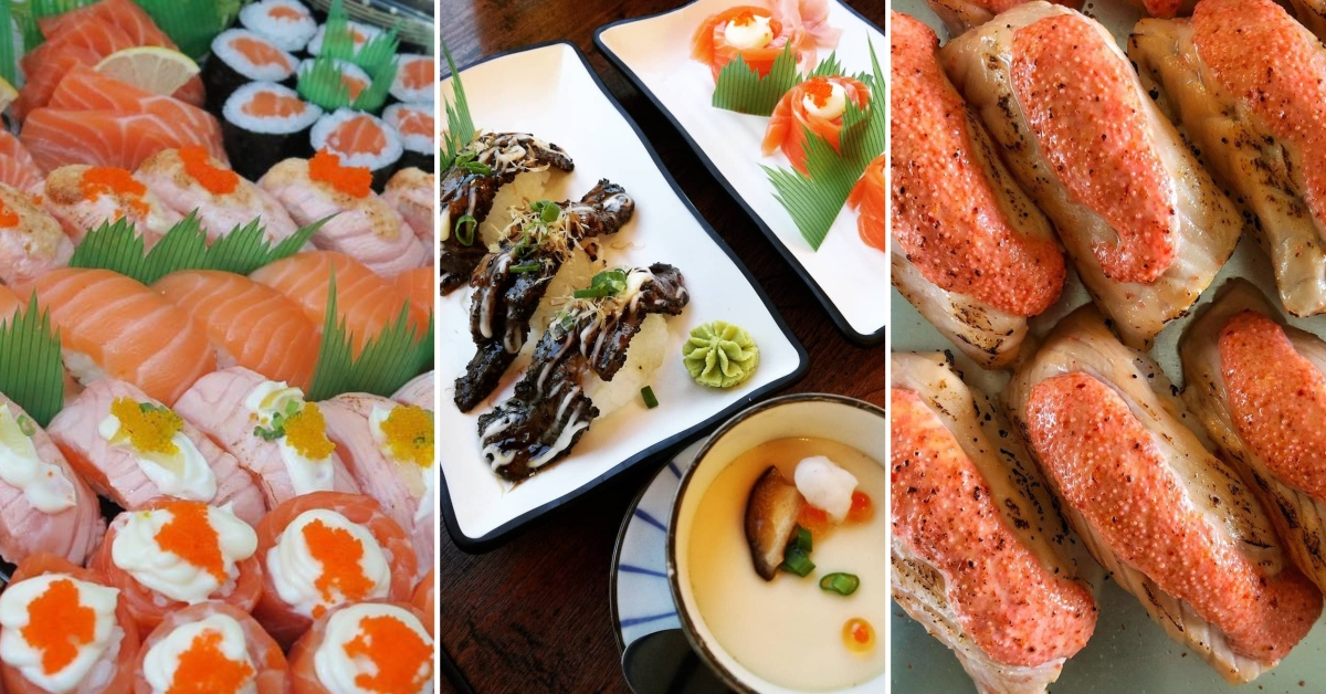 Halal Sushi In Singapore 7 Places To Get Your Sushi Fix